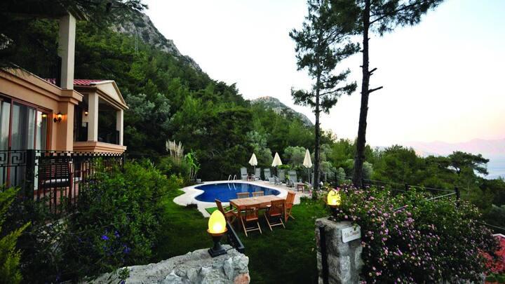 Private pool conservative villa