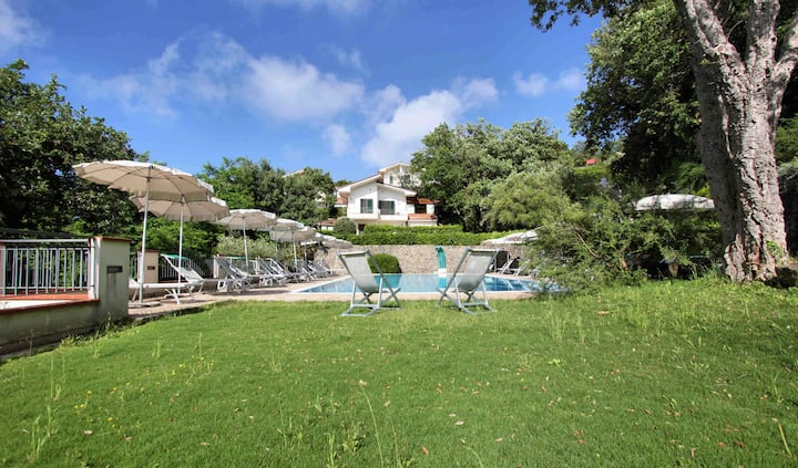 Private villa in residence with swimming pool