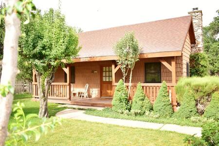Cabin in Apple Orchard near Zion, Bryce, N.Rim GC