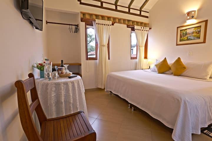 Habitación Doble Estándar Hotel Villa del Ángel