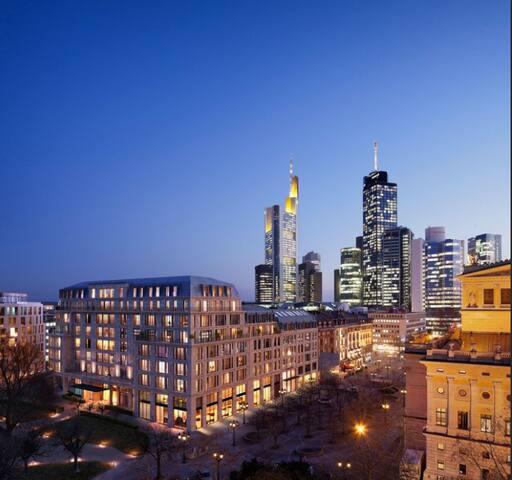 Luxus Wohnen in Frankfurts Innenstadt