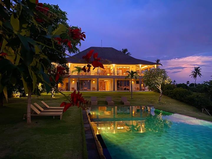 Stunning Ocean View Balian  Prana luxury  Lodge .
