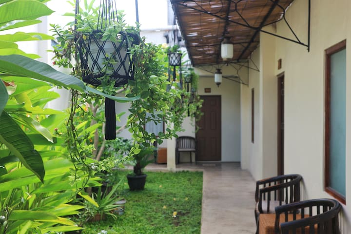 Nature space Guest House at Yogyakarta