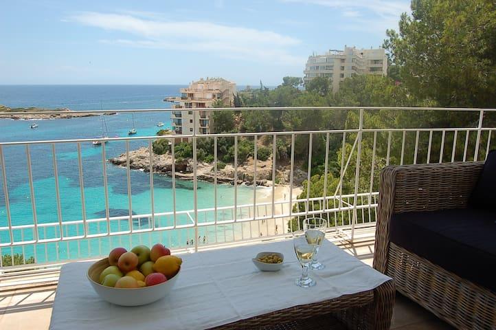 Espectacular casa en primera línea del mar