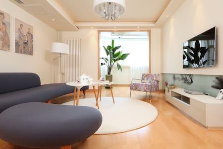宁静生活,简约风格,独立房,主次卧1.8米宽敞大床,生活交通便利。 - Xining - Apartment