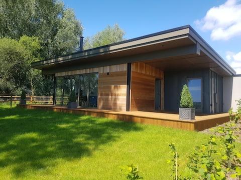 """Landscape"" New Eco Lodge Flatford Mill"
