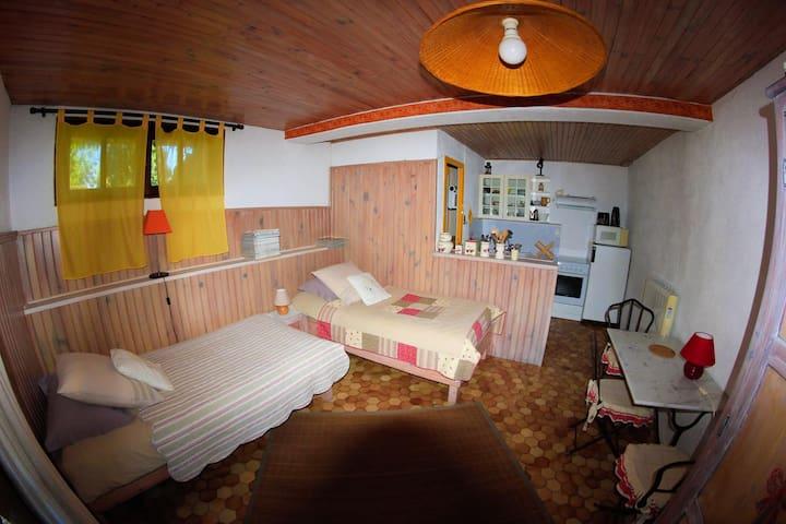 Studio de charme en Chartreuse - Saint-Aupre - Appartement