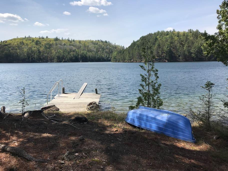 Swimming dock