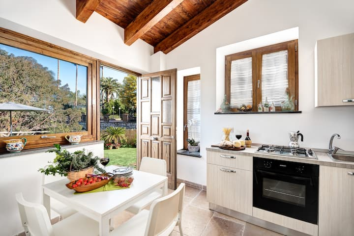 Casa Barone villa con giardino