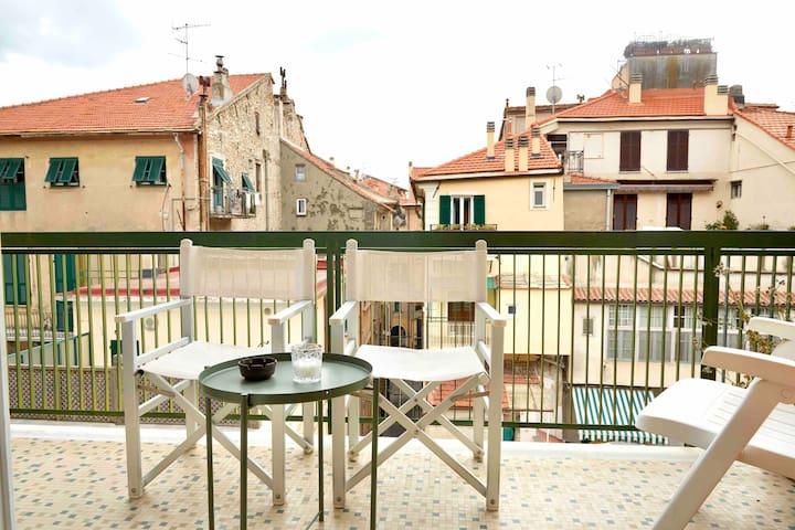 L'appartamento : Nel centro di Finale Ligure