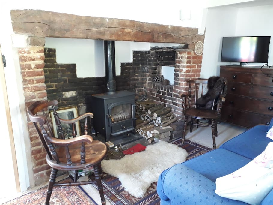 Guests are welcome to enjoy the sitting room