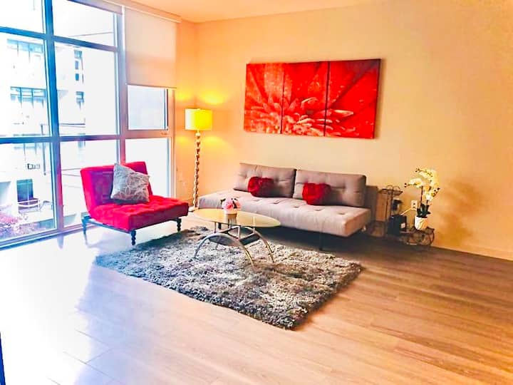 ❤️❤️🥰🥰DTLA Spacious One Bedroom Apartment In Center