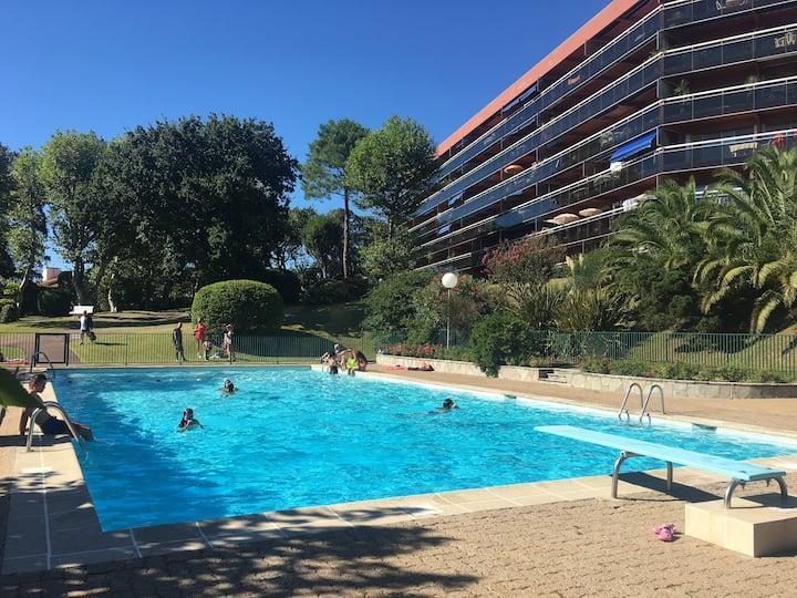 Appartement Biarritz avec piscine