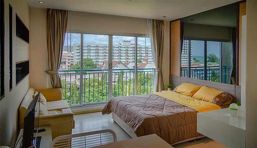 The Gallery Condo - at 100 m from the beach - Jomtien  - Appartamento