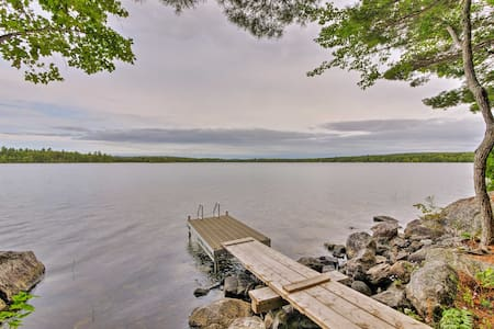 Waterfront Solar-Powered Cottage on Cathance Lake!