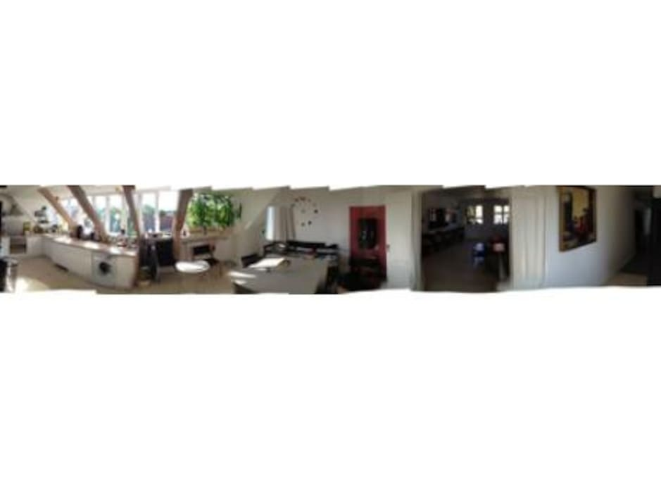 Panorama of the Kitchen