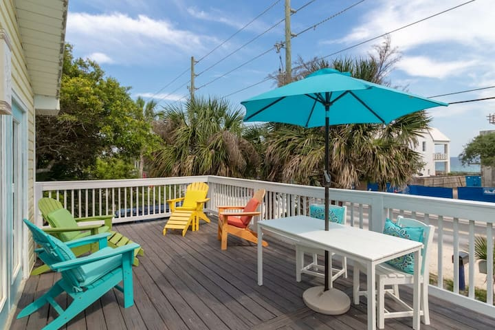 Paradiso! Gulf Views, On 30A in Old Seagrove! Walk to Seaside