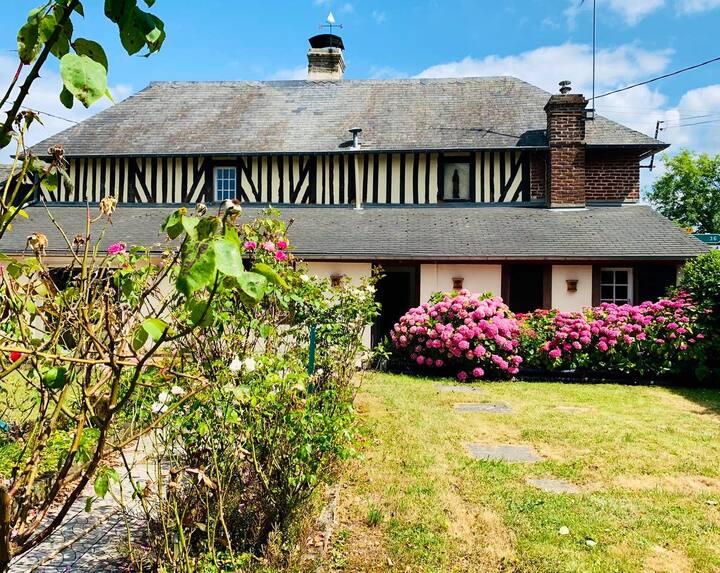 Belle Maison Normande 3' mer & Deauville Trouville