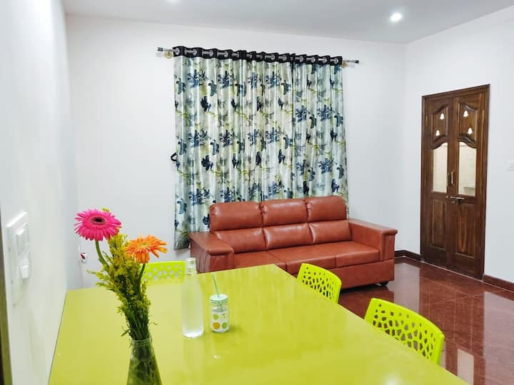 Premium 2 bedroom flat with kitchen in JP Nagar
