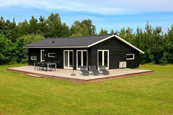 Elegant Holiday Home in Strandby with Sauna