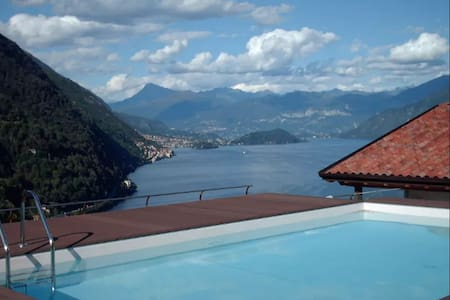 Blue Dream, lovely property with view and pool - Argegno - 別荘