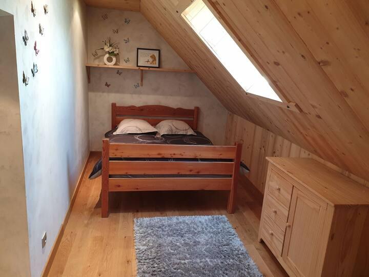 Chambre familiale pour amoureux de la montagne