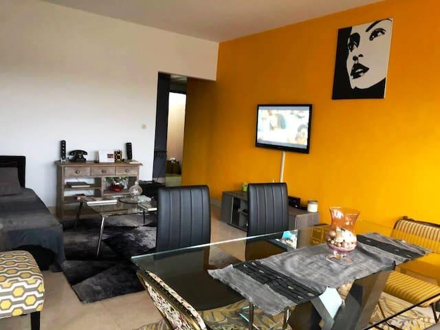 Appartement LUMINEUX et COSY à la riviera Golf