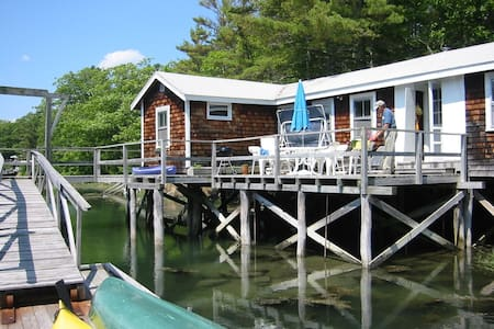 Be in the Water on a Beautiful Cove - Boothbay