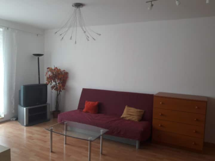 Sunny 2 rooms apartment in the city centre