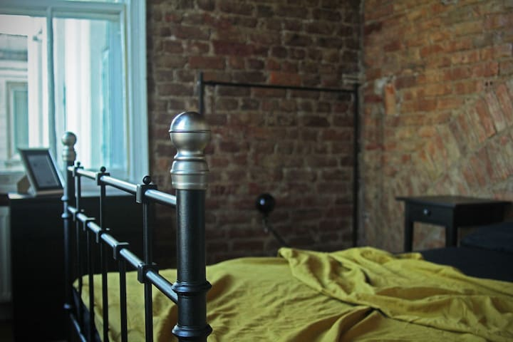 ♕Authentic Double Room//Stunning Bosphorus&Galata
