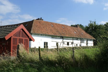 Romantische vakwerkboerderij - Klein Welsden