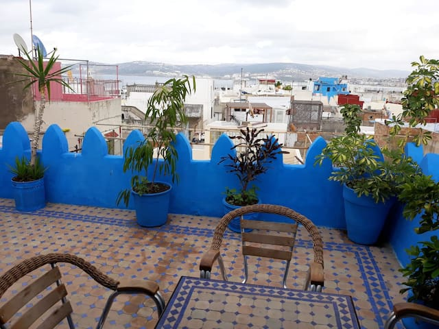 Lovely 3 bed house in Kasbah, old town of Tangiers