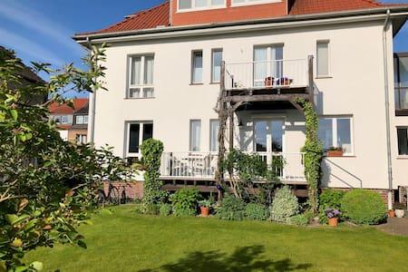 Grün und ruhig wohnen mit Terrasse
