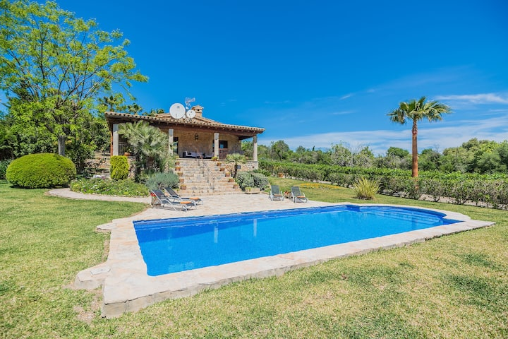 Es Clos- Private 3 bedroom villa in Alcudia