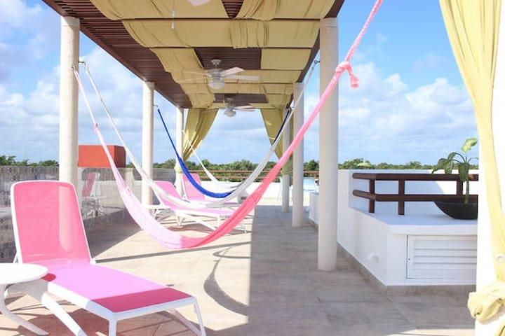 2 bedrooms Akumal with Mexican Breakfast included! - Akumal - Bed & Breakfast