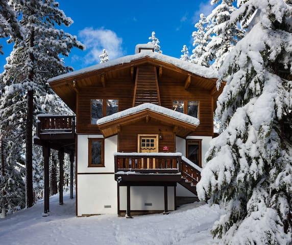 Luxury North Lake Tahoe Incline Village Ski Chalet