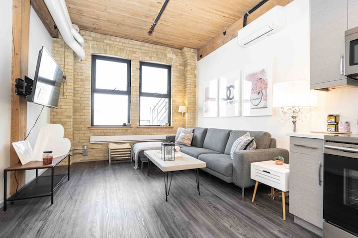 Chic Loft in Exchange District