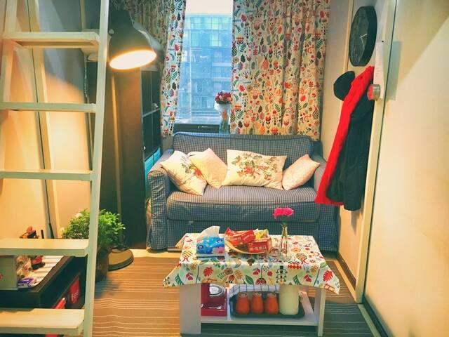 市中心地铁7号线Mika的温馨公寓 - Beijing - Apartment