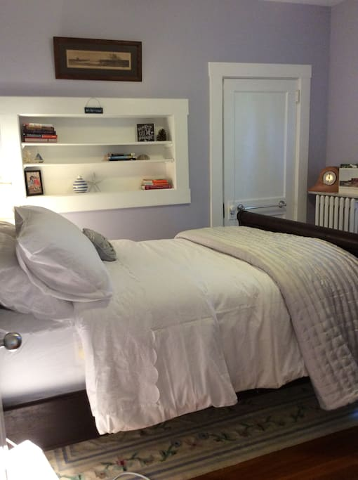 Bedroom #1 with Antique Steamer Bed