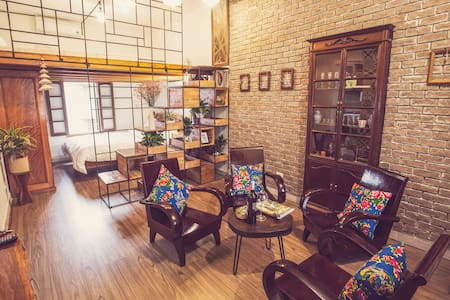 A vintage decor apartment in Hanoi Old Town - Lý Thái Tổ - Daire