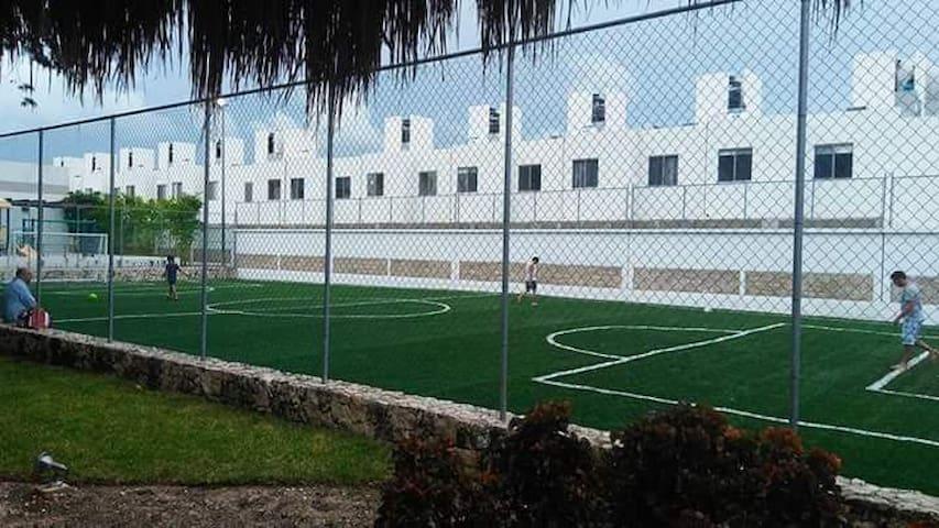 Si te gusta el deporte y quieres pasar un buen momento jugando puedes hacerlo, aquí en sport club residencial bali