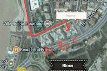 directions you can see block c