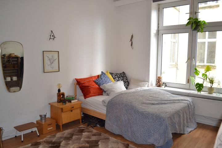 ruhiges Zimmer zum Wohlfühlen - Hamburg - Leilighet