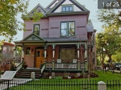 Historic Pope House Queen Anne Victorian Mansion - Helena