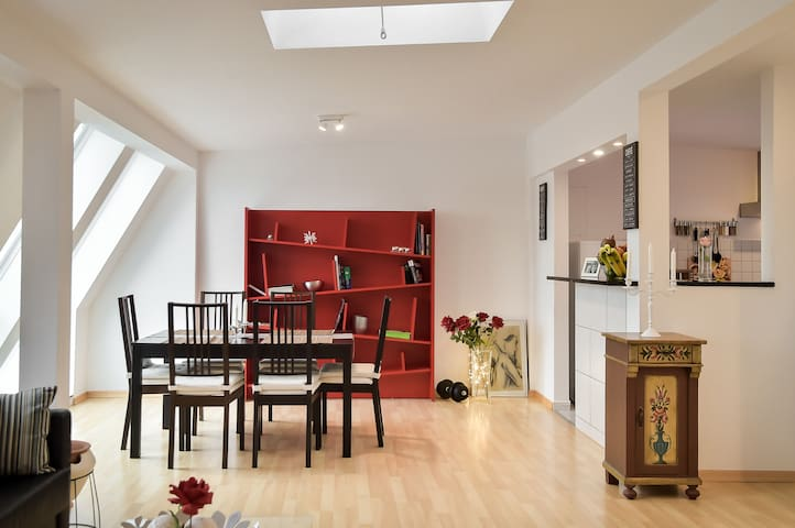 5 Secret escape apartment above Stuttgart