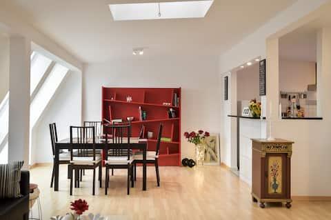 5 Secret escape apartment above Stuttgart