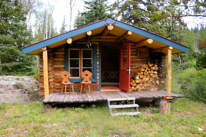 Crazy Creek Cabin #1-Open all winter