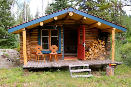 Crazy Creek Cabin #1  Rustic getaway by the river.