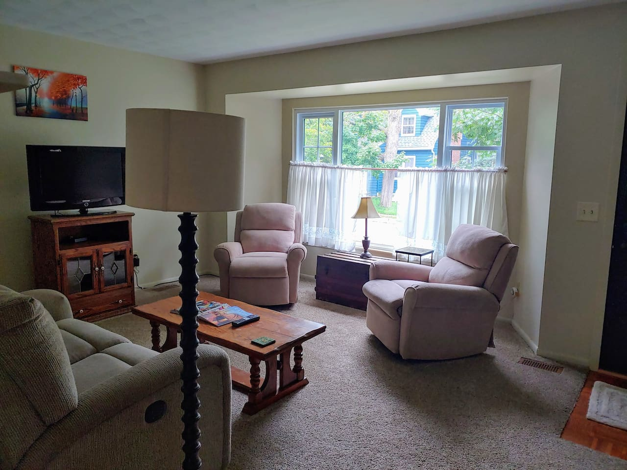 Front Living Area Exclusively Yours