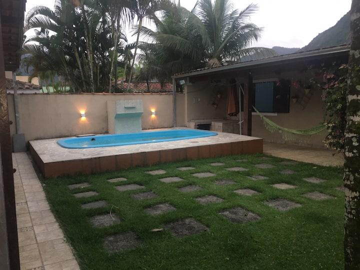 Casa Praia da Mococa+Piscina+Condomínio Fechado